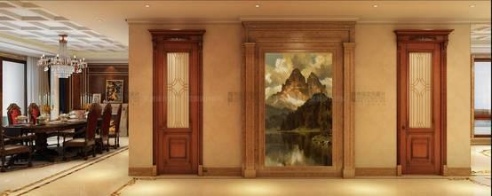 20万以上140平米复式新古典风格玄关装修案例