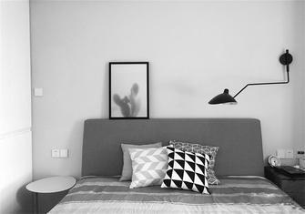 经济型100平米三室一厅北欧风格卧室图片
