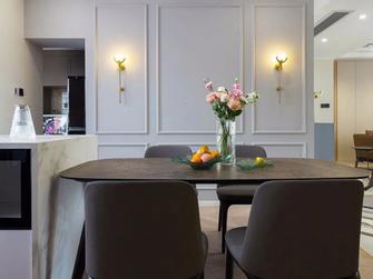 豪华型140平米三室一厅轻奢风格餐厅装修效果图