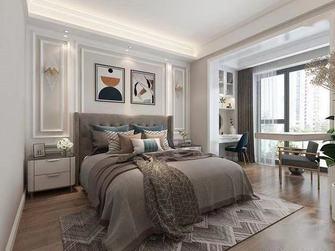 130平米三室一厅混搭风格卧室效果图