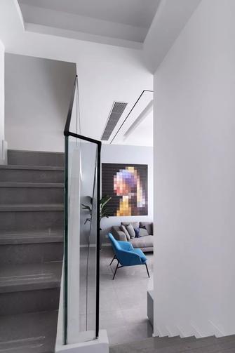 15-20万140平米三室两厅现代简约风格楼梯间图