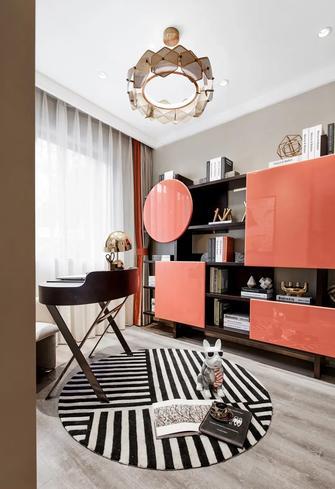 富裕型130平米三室两厅轻奢风格书房装修案例