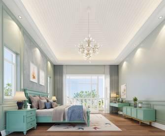 20万以上140平米别墅美式风格卧室设计图