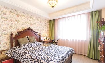 15-20万110平米三室两厅田园风格卧室装修案例