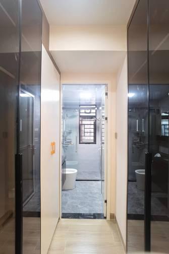 富裕型130平米四室两厅现代简约风格衣帽间装修案例