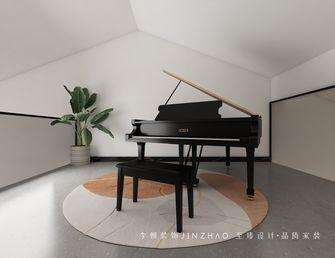 富裕型130平米复式现代简约风格影音室设计图