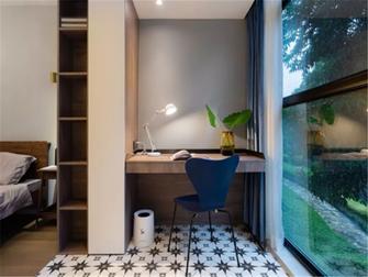 经济型110平米三室两厅轻奢风格阳台装修图片大全