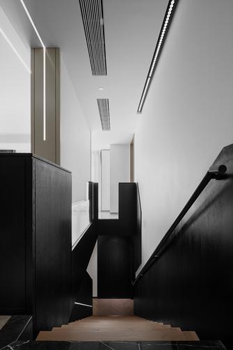 豪华型140平米复式现代简约风格楼梯间装修效果图