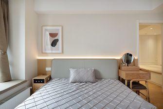 5-10万90平米三室两厅日式风格卧室设计图