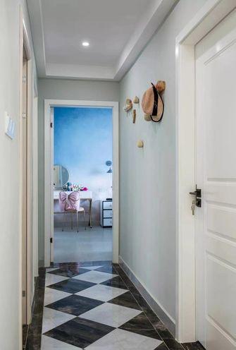 富裕型100平米三室一厅现代简约风格走廊装修案例