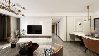 10-15万100平米三室三厅轻奢风格客厅欣赏图