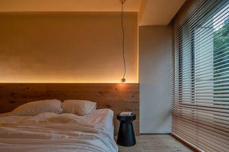 富裕型130平米三室两厅日式风格卧室欣赏图