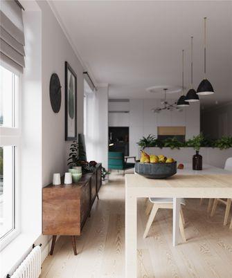 富裕型70平米一室一厅北欧风格餐厅装修案例