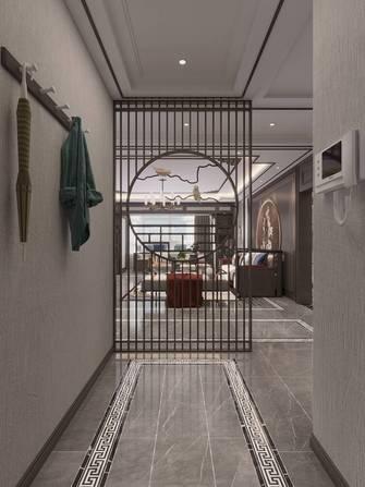三室两厅中式风格玄关装修效果图