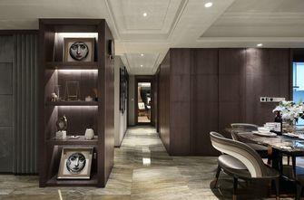 富裕型130平米四室一厅轻奢风格餐厅图片大全