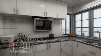 5-10万120平米三室两厅现代简约风格厨房设计图