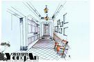 豪华型140平米复式美式风格走廊图片大全