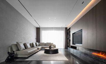 富裕型120平米三室两厅工业风风格客厅图