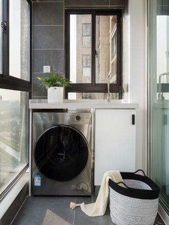 80平米现代简约风格阳台图片大全