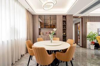 富裕型三室三厅港式风格餐厅图片大全