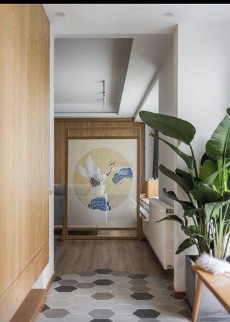 富裕型100平米三室两厅日式风格玄关装修案例