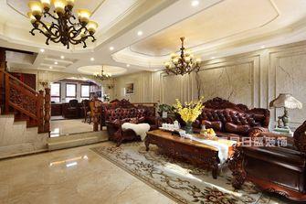 20万以上140平米复式新古典风格客厅图片