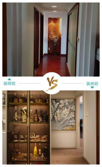 20万以上140平米三室两厅轻奢风格走廊图片