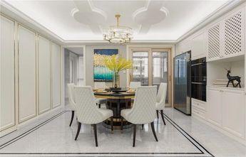 10-15万120平米三室两厅英伦风格餐厅图片