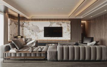 140平米三轻奢风格客厅设计图