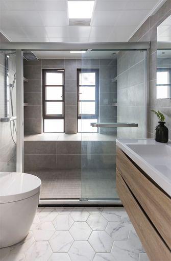 10-15万80平米三室一厅北欧风格卫生间图片