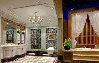 140平米三室两厅欧式风格卫生间装修效果图