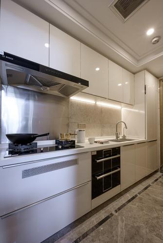 3-5万80平米三轻奢风格厨房图片