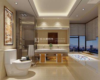 豪华型140平米三室一厅混搭风格卫生间图片大全