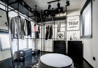 60平米一居室现代简约风格衣帽间设计图