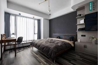 10-15万110平米三室两厅工业风风格卧室装修图片大全