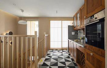 140平米复式混搭风格厨房欣赏图