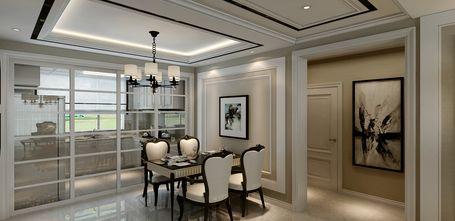 130平米三新古典风格餐厅装修效果图