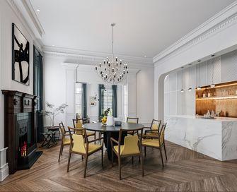 经济型110平米三室两厅法式风格餐厅装修效果图