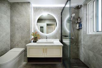 20万以上120平米三室三厅现代简约风格卫生间设计图