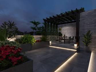 20万以上130平米现代简约风格阳光房图片