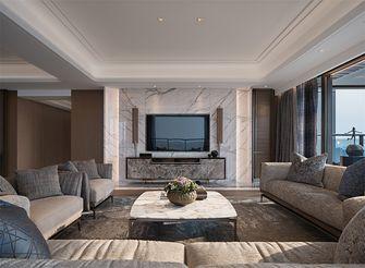 20万以上140平米三轻奢风格客厅设计图