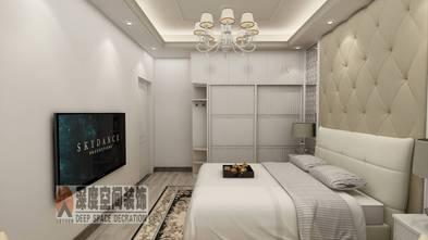 经济型80平米三室一厅北欧风格卧室装修案例