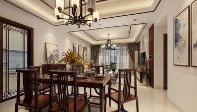100平米三中式风格餐厅设计图