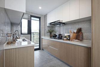 140平米三室一厅田园风格厨房图片大全