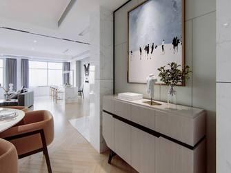 富裕型120平米三室两厅地中海风格玄关图片