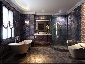 140平米别墅美式风格卫生间图片