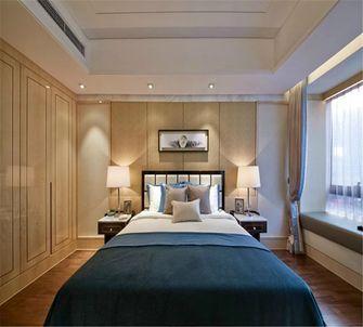 140平米四室一厅中式风格卧室图