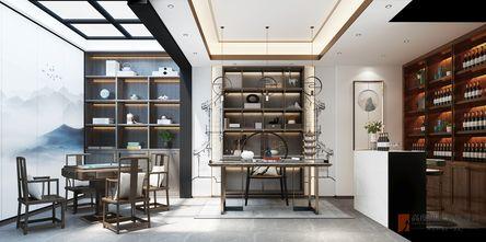 20万以上140平米别墅中式风格书房图
