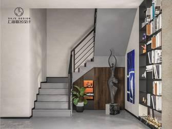 富裕型140平米现代简约风格楼梯间装修案例