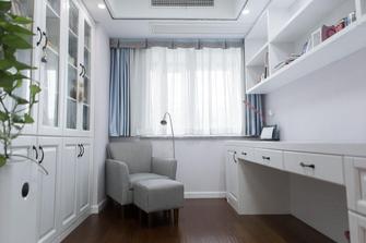 140平米三室三厅中式风格书房设计图